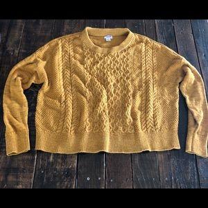 🍂Mossimo Semi-Dohlman sleeves sweater Sz L